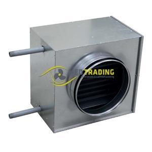 Kanaalverwarmers (warmwaterbatterij/ elektrisch)