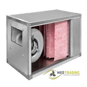 Toevoerboxen met voorfilter